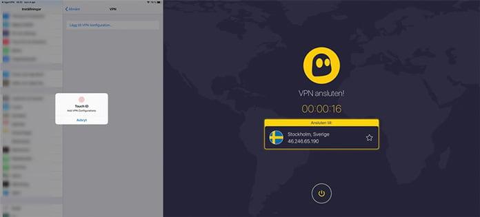 app-för-ios-med-cyberghost-vpn
