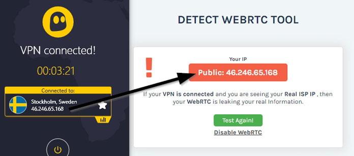 ingen-webrct-läcka-på-cyberghost