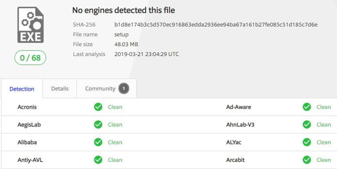 inget-virus-i-privatevpn-programvara