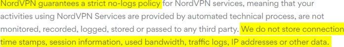 nordvpn-sparar-inga-loggar-enligt-användaravtalet