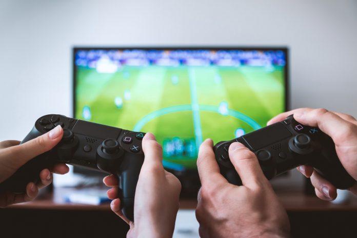 Playstation 4 spelar sportspel