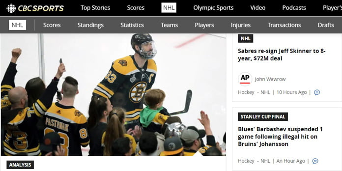 cbc-sports-för-nhl-streaming