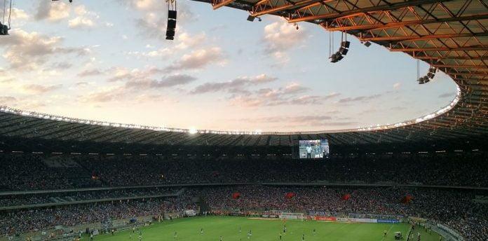Fotboll fotbollsplan