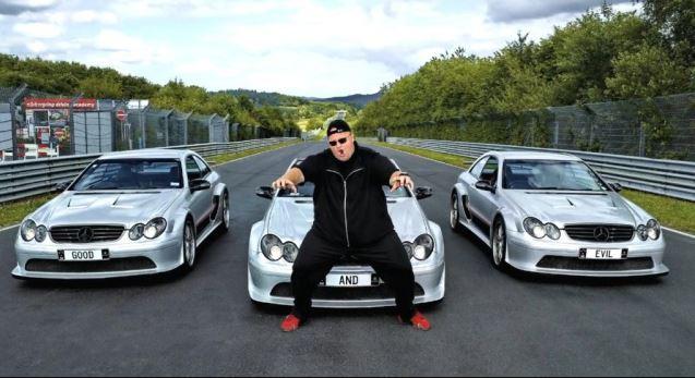 Kim Dotcom cars