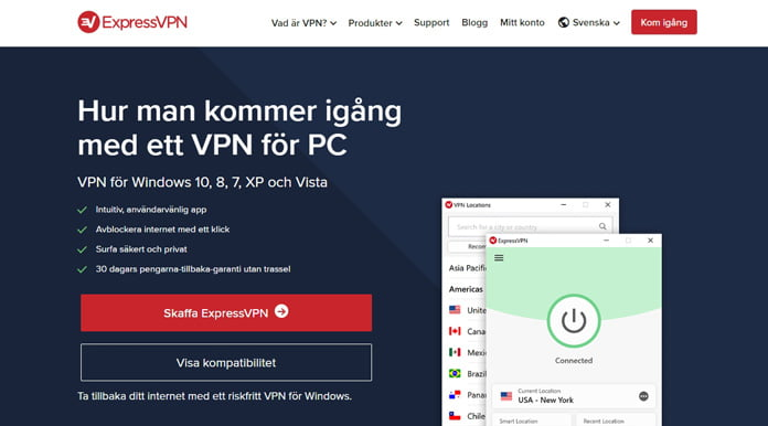 expressvpn-för-windows