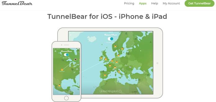tunnelbear-app-för-ios