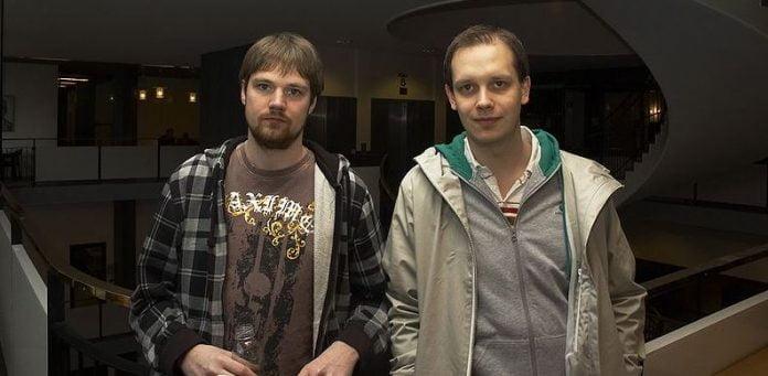 Fredrik Neij och Peter Sunde e1545697271355