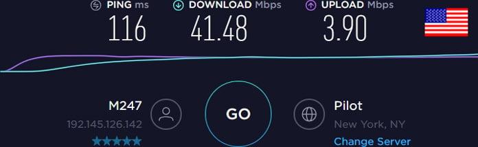 surfshark-server-usa-hastighetstest