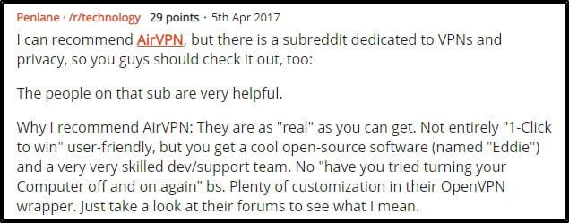airvpn-på-reddit