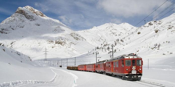 bernina-express-järnvägen