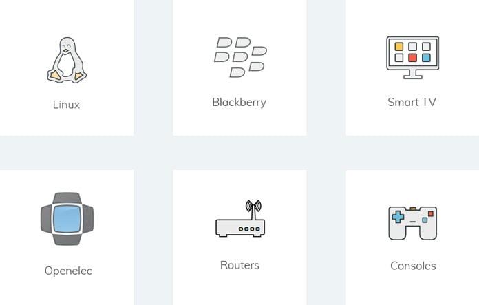 enhetsstöd-för-ivacy-linux-blackberry-openelec-routrar-spelkonsoler