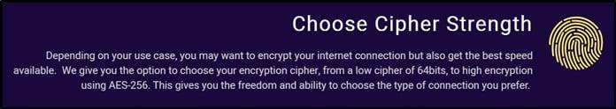 krypteringsnivå-för-vpnsecure