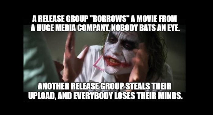 meme piratkopiering dubbelmoral