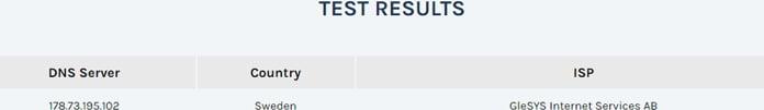 testresultat-för-dns-läcka-för-frootvpn