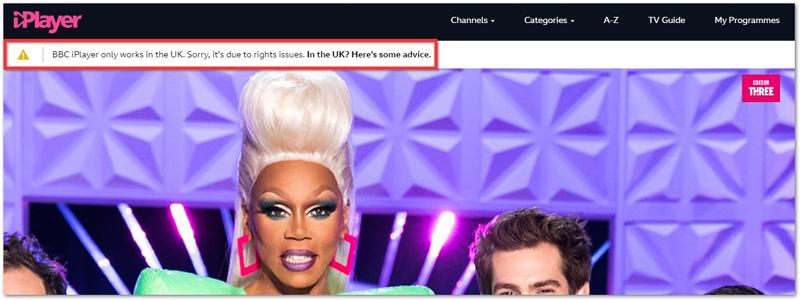 BBC iPlayer kan inte lasas upp