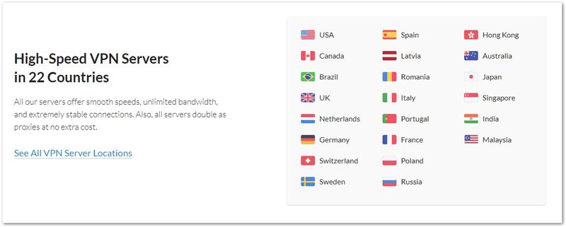 VPN servrar med Cactusvpn