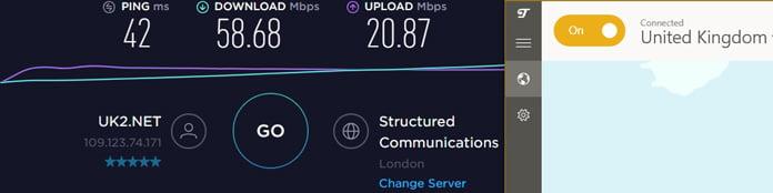 tunnelbear-server-i-storbritannien-hastighetstest