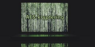 aes-kryptering-på-en-dator