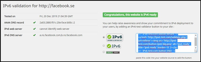 facebook.se-ipv6-tool