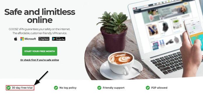 goosevpn-erbjuder-gratis-pengarna-tillbaka-garanti-i-30-dagar