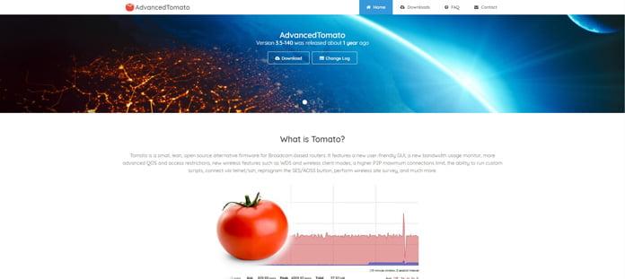tomato-för-routrar