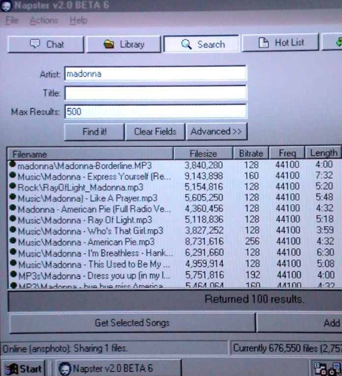 napster-screenshot