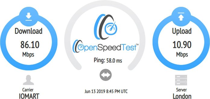 openspeedtest-test-för-server-i-storbritannien-med-vpn-unlimited