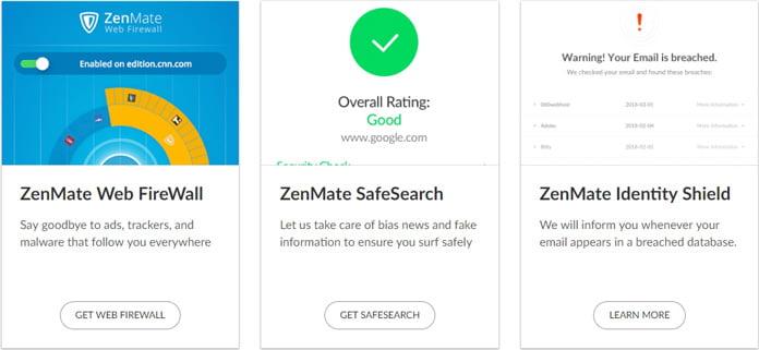 zenmate-extratjänster-safesearch-firewall-identity-shield