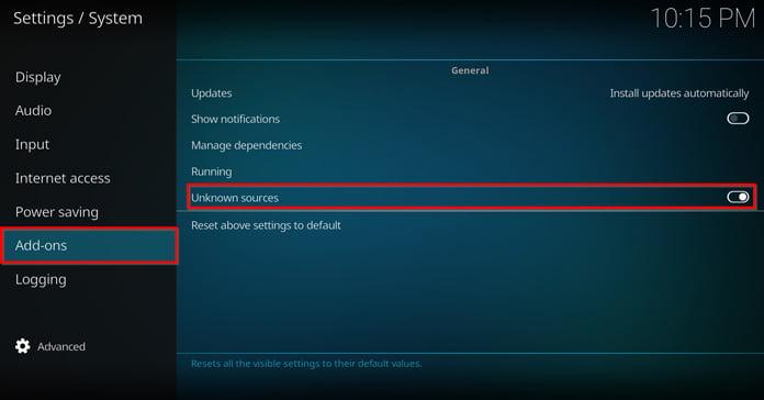 app-settings-för-kodi