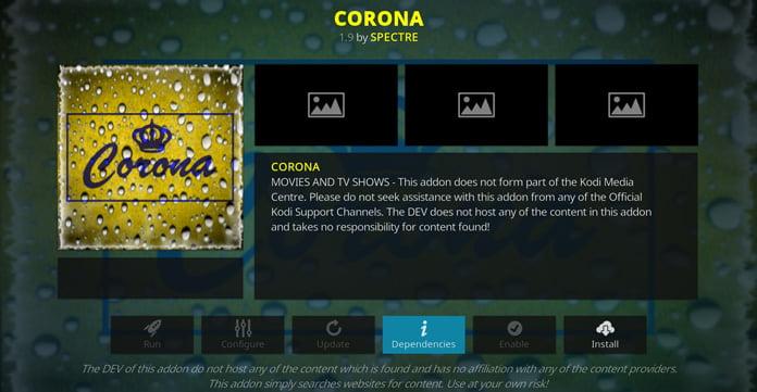 corona-kodi-tillägg
