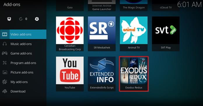 Så här installerar ni Kodi-tillägget Exodus Redux - VPNBasen
