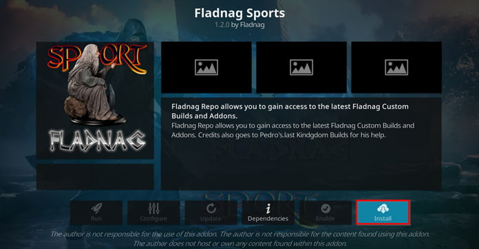 installera-fladnag-sports-för-kodi