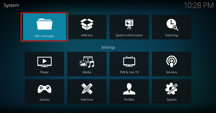 kodi-file-manager