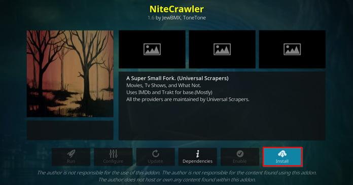 nitecrawler-ska-installeras