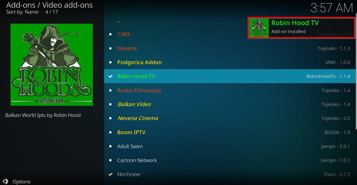 popup-ruta-säger-att-robin-hood-tv-har-installerats