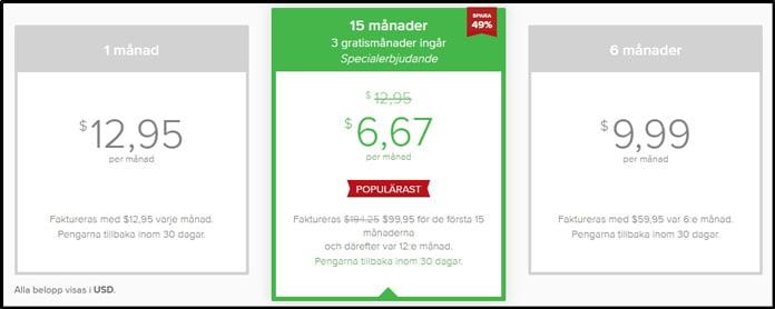 prisplan-för-expressvpn