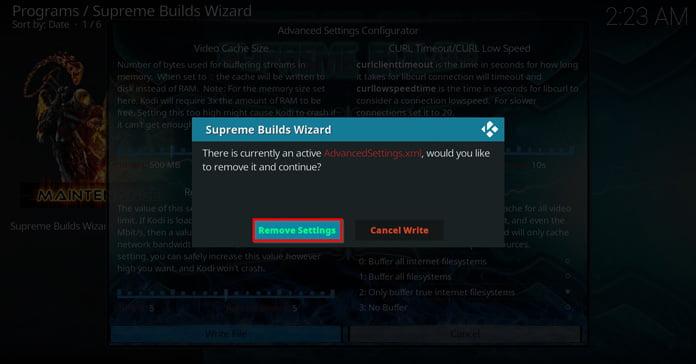 remove-settings-för-att-rensa-cache
