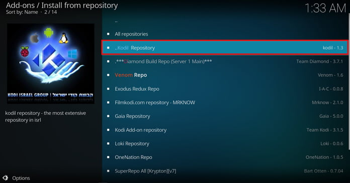 välj-kodil-repository