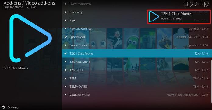 1-click-movie-är-installerad-säger-popup-ruta