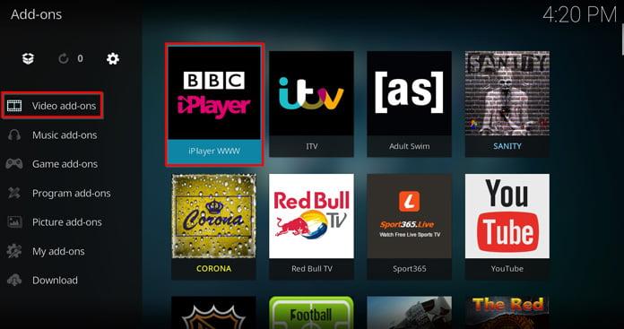 bbc-iplayer-kan-alltid-nås-från-kodishuvudgränssnitt