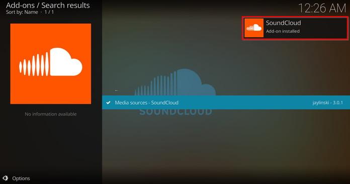 en-popup-ruta-säger-att-soundcloud-är-installerat