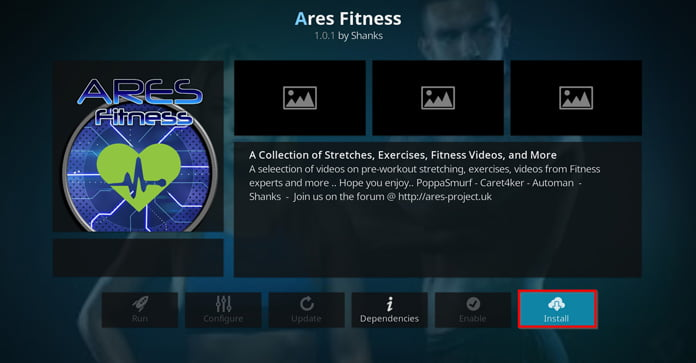 installera-ares-fitness