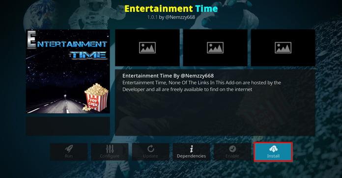 installera-entertainment-time