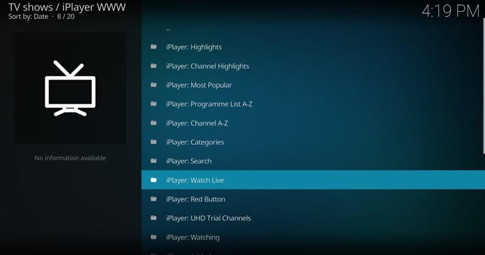 iplayer-wwws-huvudgränssnitt
