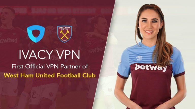 IvacyVPN sponsrar numera West Ham – firar med ny rabattkod