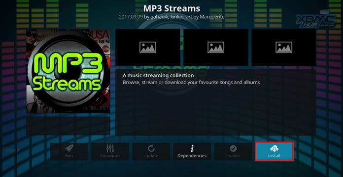 mp3-streams-installation