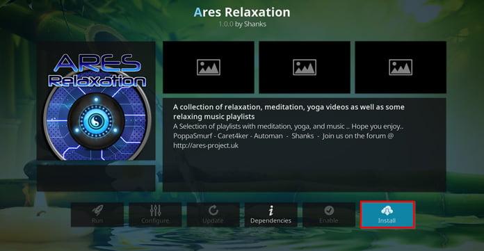 välj-att-installera-ares-relaxation