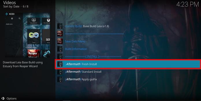 välj-fresh-install-för-att-installera-reddit-reaper