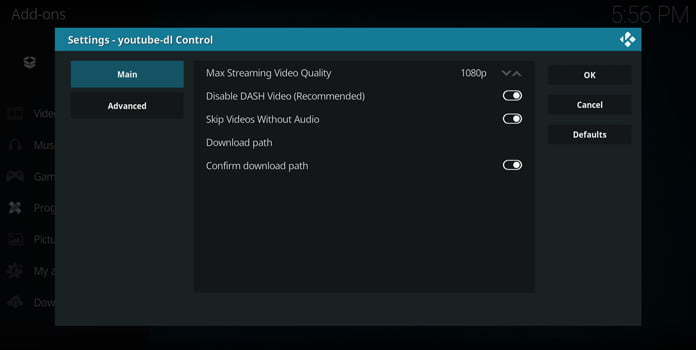 youtube-dl-control