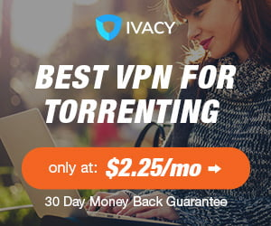 annons för IvacyVPN